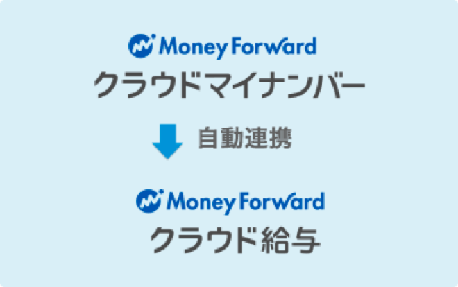 マネーフォワード クラウド給与と連携して源泉徴収票へ手間なく安全にマイナンバーを印字できます